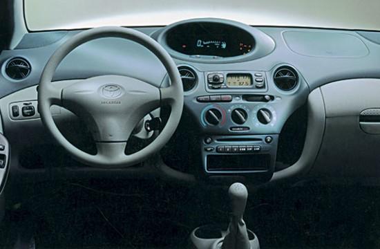 Приборная панель Vitz 1999