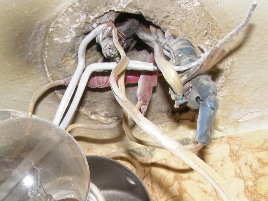 Проблема с проводкой внутри квартиры