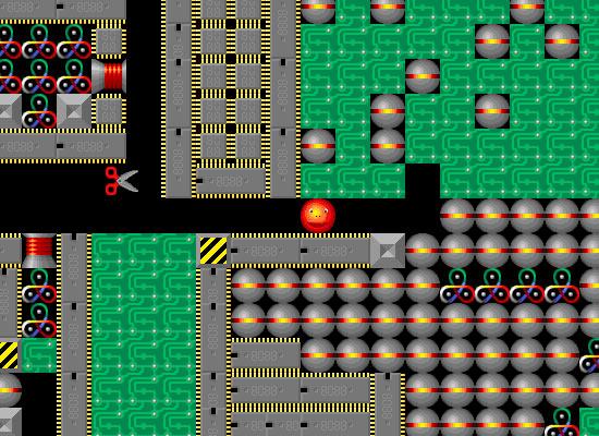 Supaplex – игровой процесс