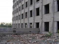 Заброшенное здание под Искитимом